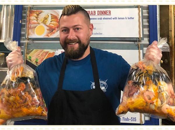 Fisherman's Market Cajun Crab Boil Bags