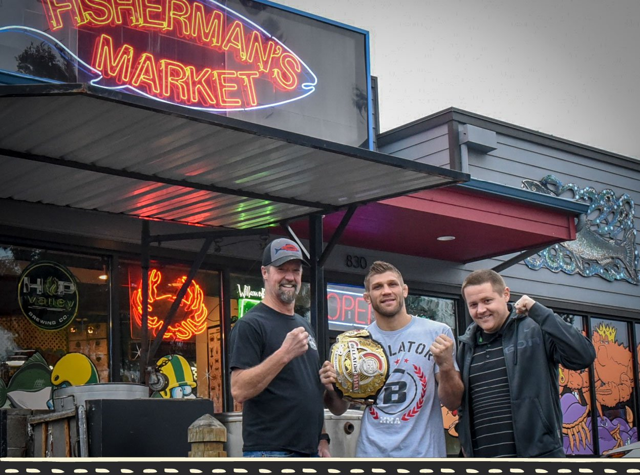 Fisherman's Market Proud Sponsor of Brent Primus, former Bellator Lightweight World Champion