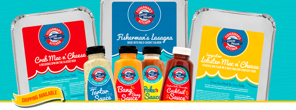 Fisherman's Kitchen Take and Bake and Sauces