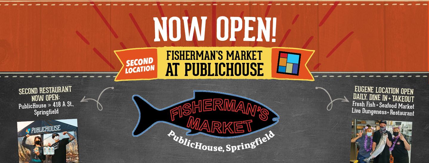 Fisherman's Market second restaurant location now open PublicHouse, Springfield